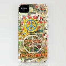 Peace Sign - Love - Graffiti iPhone (4, 4s) Slim Case