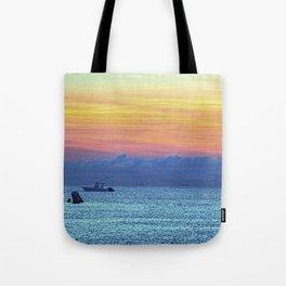 Fire Island Marina Tote Bag