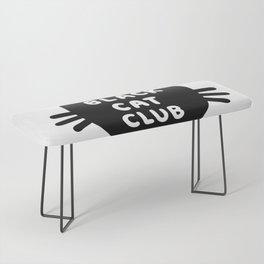 Black Cat Club Bench