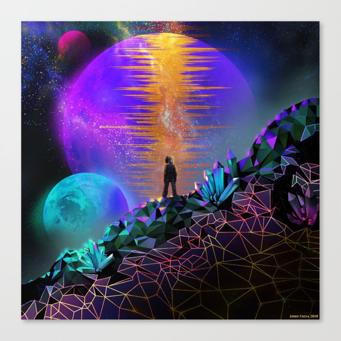 In Space, No One Can Hear You... Canvas Print