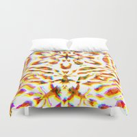 prism Duvet Covers featuring Prism Brake by Lynsey Ledray