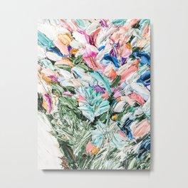 Painter's Floral  Metal Print