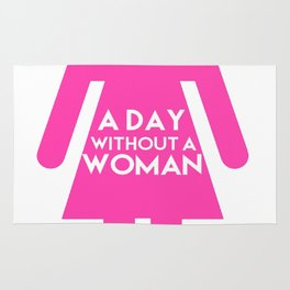 A day without a woman 32 Rug