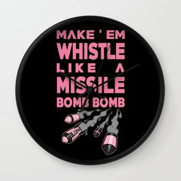 Whistle - BLACKPINK Wall Clock