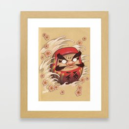 daruma Framed Art Print