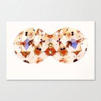 kaleidoscope Canvas Prints featuring Kaleidoscope by jenn l