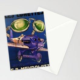 Werbeplakat Les Lunettes Stationery Cards