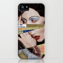 Model Mayhem iPhone Case