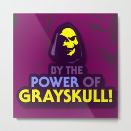 By The Power Of Grayskull Metal Print