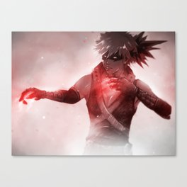 Feelin' Invincible | Katsuki Bakugou Canvas Print