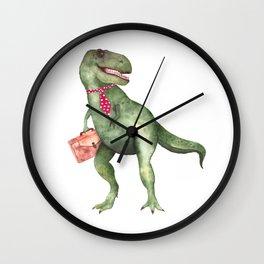 T-T-Terry T-Rex Wall Clock