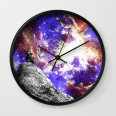 Star Gazing Wall Clock