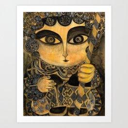 Dao Ma Dan Art Print