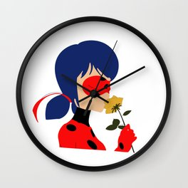 Ladynoir Wall Clock