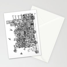 Busy City – On Your Bike Stationery Cards