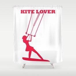 Kite Lovers Shower Curtain