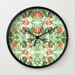 KALEIDOSCOPE FLORAL Wall Clock