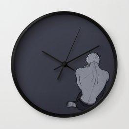 Sad prussian Wall Clock