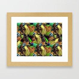 Beautiful phobia Framed Art Print