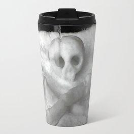 Snow Skull Travel Mug