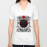 occult V-neck T-shirts featuring Occult theme by Renars