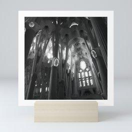 Sagrada Familia, Barcelona, Spain Mini Art Print