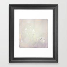 Dreamy drops Framed Art Print