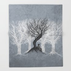 Beneath the Branches Throw Blanket