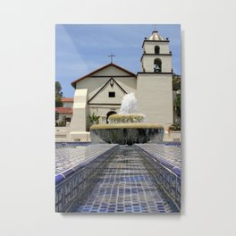Mission Water Metal Print