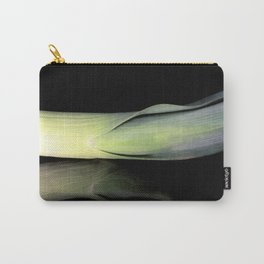 Leek on Black Carry-All Pouch