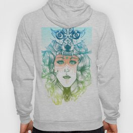 Wolf Mother Hoody