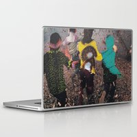 butterfly Laptop & iPad Skins featuring Butterfly by Lerson