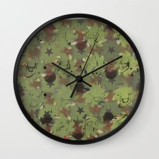 RG Colorfield Wall Clock