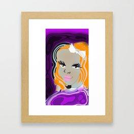 ilustrations  Acolor Framed Art Print