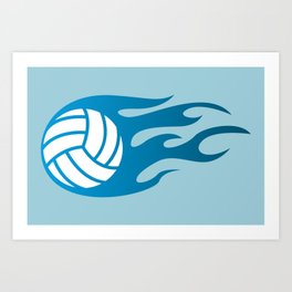 The Volleyball I Art Print