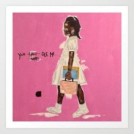 Ruby Bridges Art Print