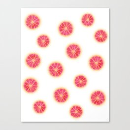 RUBY RED GRAPEFRUIT Canvas Print