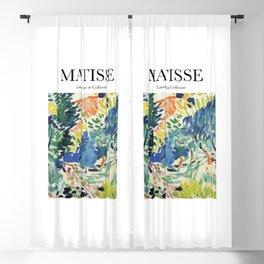 Matisse - Landscape at Collioure Blackout Curtain