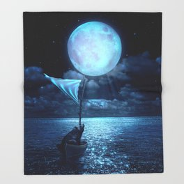 Set Adrift Throw Blanket