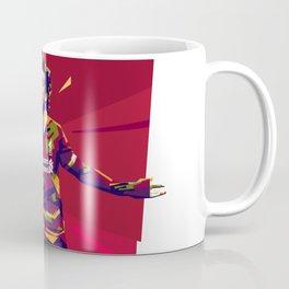 colorful illutration of mohamed salah Coffee Mug