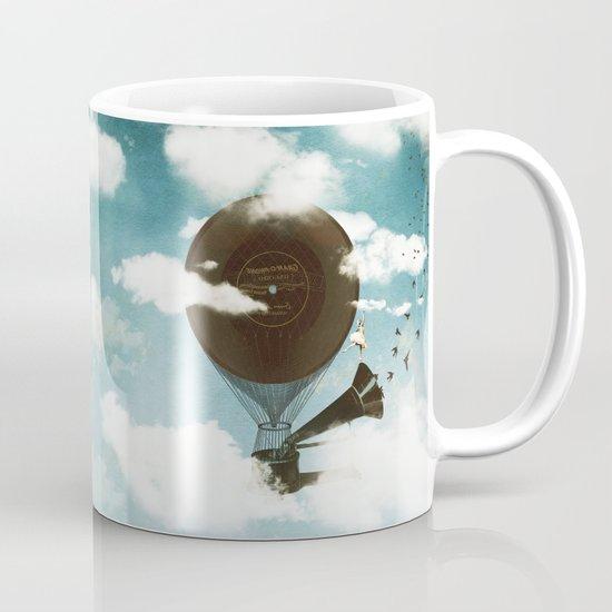 Swan Lake Up in the Air Mug