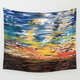 Sundown Wall Tapestry