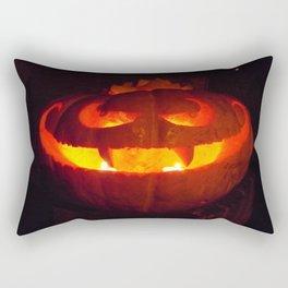 Vampire Pumpkin Rectangular Pillow