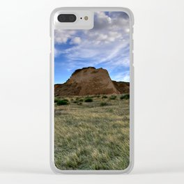 Pawnee Buttes Evening Sky Clear iPhone Case