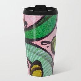 Colors at the wall Travel Mug