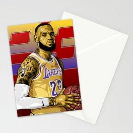 Lebron Illustration  Stationery Cards
