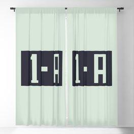 1-A Blackout Curtain