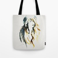 belle Tote Bags featuring Belle by ne11amae
