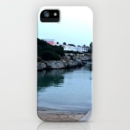 Hidden Beach in Ciutadella iPhone Case