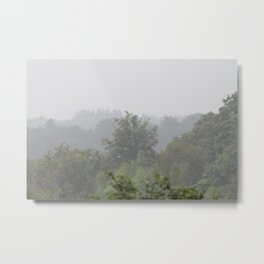 Up high in the Ardennes Metal Print